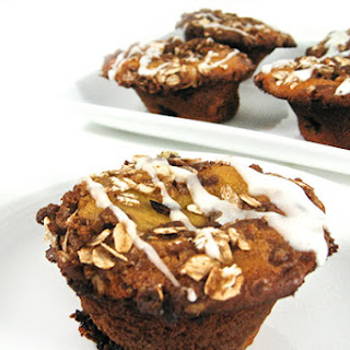 Fabulous, Skinny Lemon Blueberry Coffee Cake Muffins.