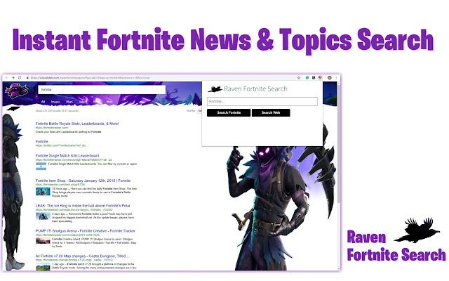 Raven Fortnite Search
