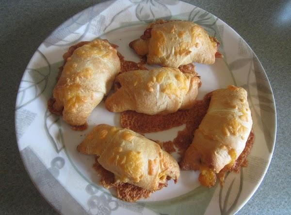 Cheesy Bacon Crescents Recipe