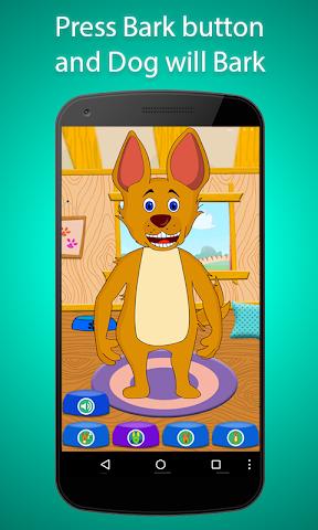 android Talking Dancing Max - The dog Screenshot 0