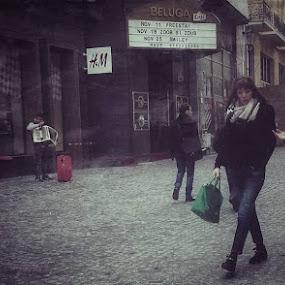 by Otetea Ovidiu - City,  Street & Park  Street Scenes