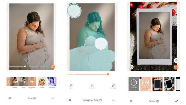 Como fazer fotos de grávida em casa