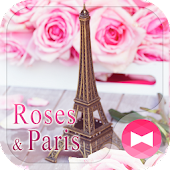 Lovely Theme Roses & Paris