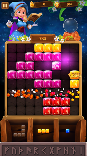Witch Block Puzzle - screenshot