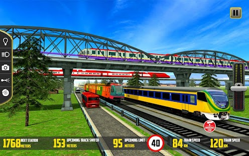 Indian Train Racing 2017 – 3D Simulator - náhled