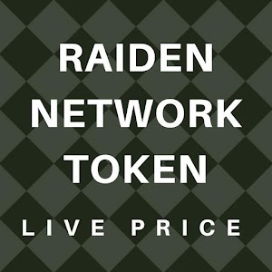 Raiden Network Token Live Rate for PC