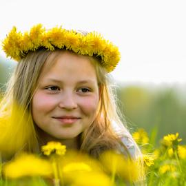 Sungirl by Kristina Nutautiene - Babies & Children Child Portraits