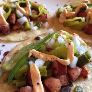 Chicago Dog Tacos