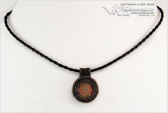 Photo: Little Pendant in Seltic Motifs - Маленький кулон на кельтський мотив