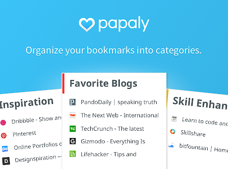 Papaly Bookmark Manager