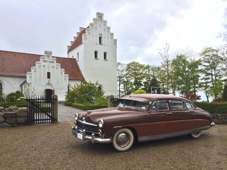 Hudson Super Six Four Door Sedan Hire Svendborg