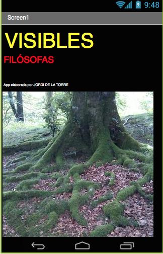 VISIBLES FILÓSOFAS