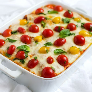 How to Make Italian Baked Quinoa with Fresh Tomato Topping Lunch.