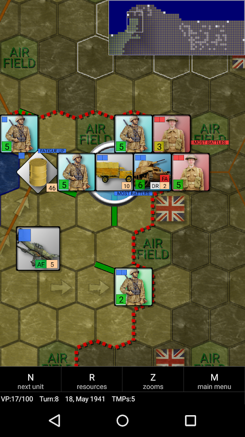 Rommel And Afrika Korps- screenshot