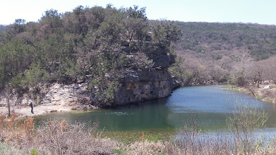 Photo: Campsite C and associated (cold) swimming hole