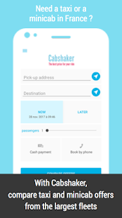 Cabshaker : taxis and minicabs in France - náhled