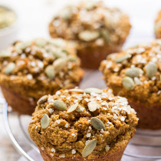Skinny Pumpkin Quinoa Muffins.