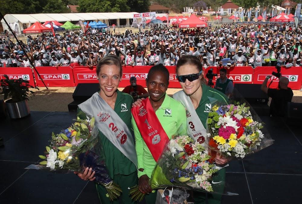 Die Namibiese sensasie Helalia Johannes is 'n verdere 10 km-rekord