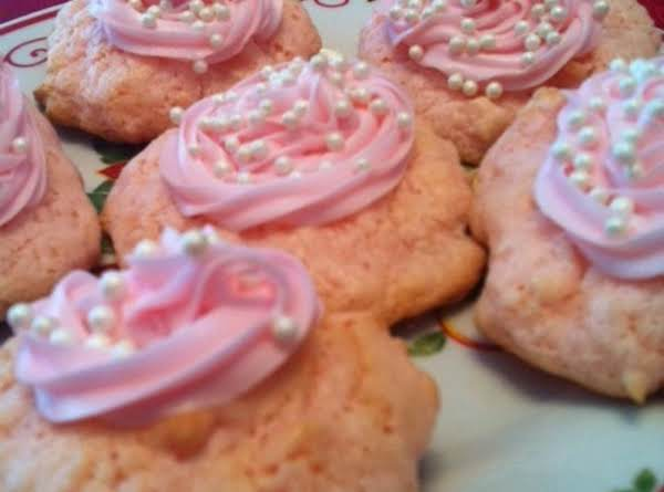 Strawberry Coconut Angel Pillows