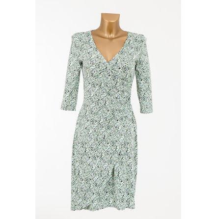 Easy Wear Jersey Dress Green - Pernilla Wahlgren