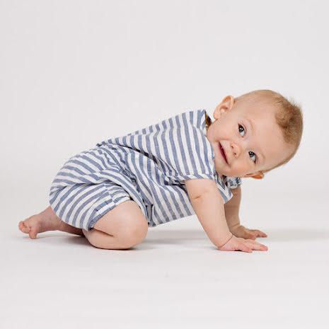 Florida - Randig heldräkt till baby