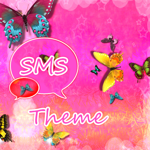 Nice Pink Theme GO SMS Pro