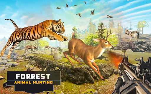 Forest Animal Hunting 2018 - 3D filehippodl screenshot 14