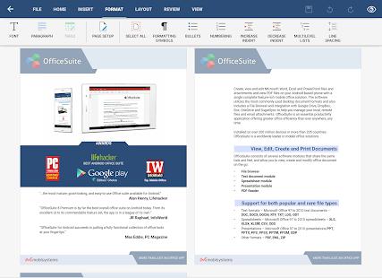 OfficeSuite Pro + PDF (Trial)- screenshot thumbnail