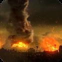 Tornado Fire Live Wallpaper icon