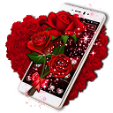 Sparkle Red Rose Theme 1.1.4