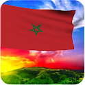 3D Morocco Flag Wallpaper icon