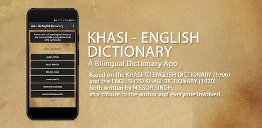 Khasi To English Dictionary – Apps on Google Play