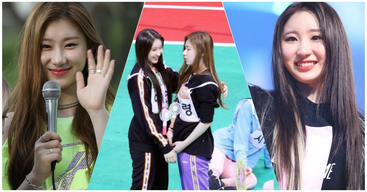 ITZY's Chaeryeong And IZ*ONE's Chaeyeon Had The Sweetest ChaeSis ...