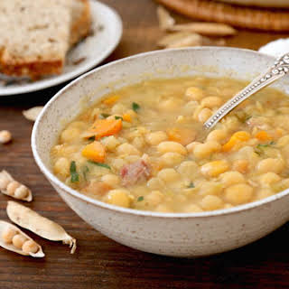Quebec-Style Yellow Pea Soup.
