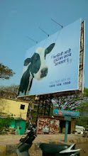 """Photo: Cute yet thoughtful advertisement, """"Do you know what the milk likes?"""" We tend to forget other creatures on the earth while consuming things daily without the conscious. 21st February updated -http://jp.asksiddhi.in/daily_detail.php?id=461"""