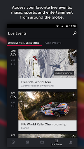 Red Bull TV: Live Sports, Music & Entertainment 4.4.7.13 screenshots 2