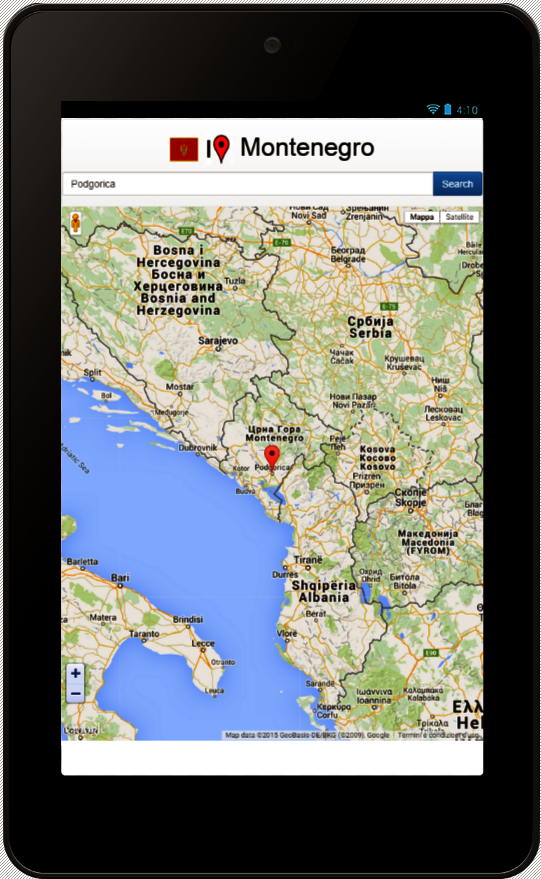 Montenegro Map Android Apps On Google Play - Montenegro map download