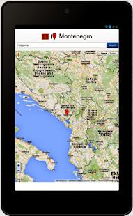 crna gora google mapa Montenegro map   Apps on Google Play crna gora google mapa