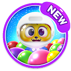 Space Cats Pop - Bubble Shooter Kitty Kitten Game icon