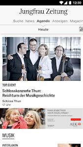 Jungfrau Zeitung screenshot 4