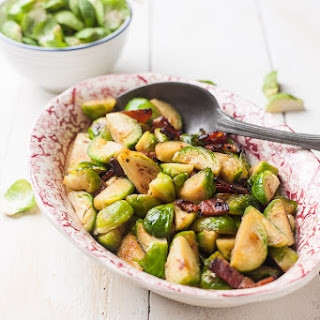 Bacon Maple and Whisky Brussel Sprouts