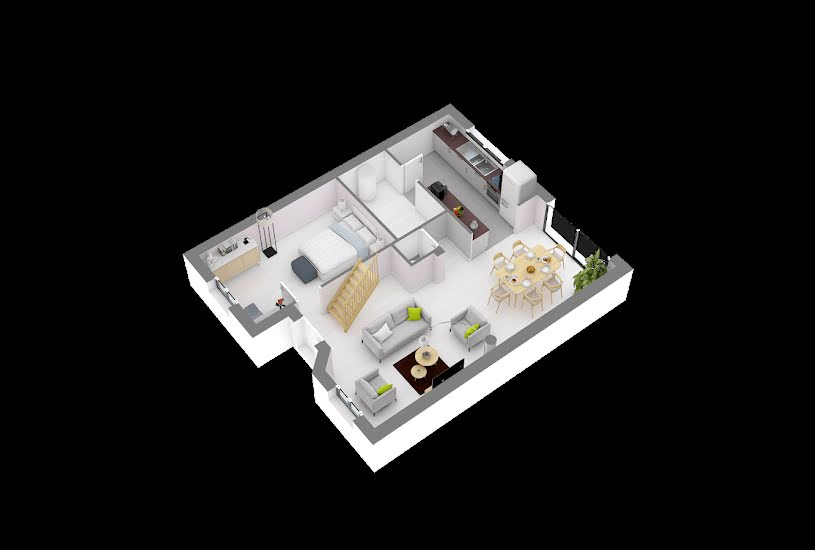 Vente Terrain + Maison - Terrain : 379m² - Maison : 104m² à Égly (91520)
