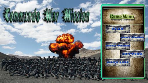 Commando Army War HD