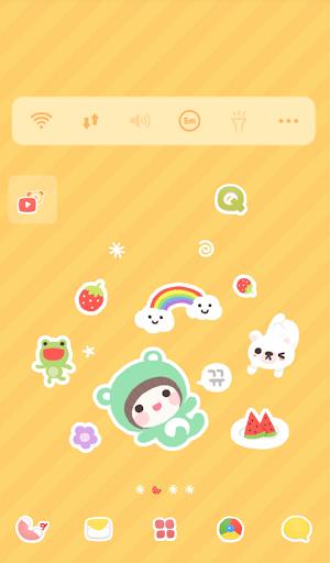 베베 뒹구르르 도돌런처 테마|玩個人化App免費|玩APPs