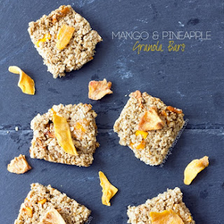 Mango and Pineapple Granola Bars