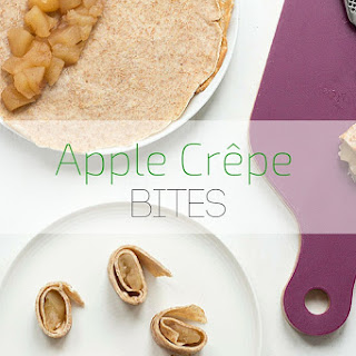Wholemeal Apple Crepes.