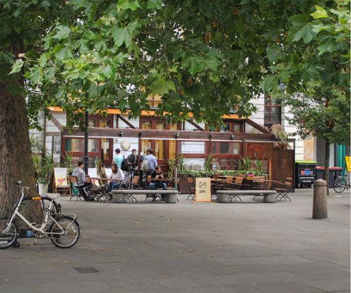 Restaurants and Cafes in Old Street