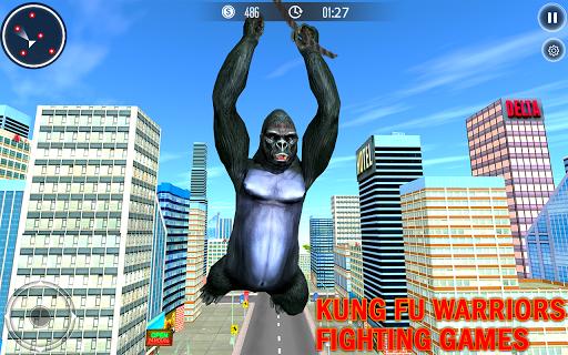 Code Triche Gorilla City Simulator - Rope Hero Gorilla Game mod apk screenshots 5