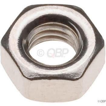 Tree Fort Bikes 6mm Stainless Nut Bag of 20