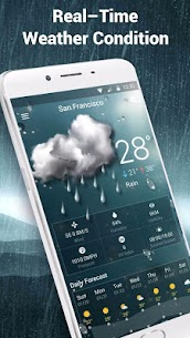 weather notification bar 16.6.0.6206_50092 APK Mod for Android 3